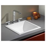 Square Drop-In or Undermount Basin Sink