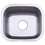 14-inch Stainless Steel Undermount Single Bowl Kitchen Sink