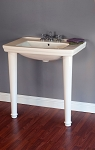 Small Modern Console Sink with Legs