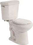ALL-IN-ONE Round Front Comfort Height Toilet