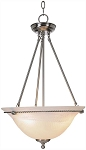 Torino Pendant Light in Brushed Nickel