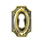 Keyhole Cover Plate Escutcheon, Colonial Revival
