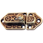 Cabinet Door Latch, Ornate, Small