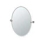 Latitude-2 Oval Beveled Mirror