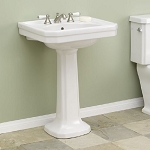 Mayfair Pedestal Lavatory Sink