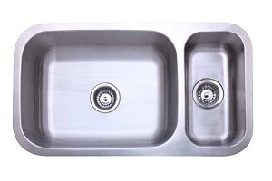 Stainless Steel Undermount Double Bowl Kitchen Sink