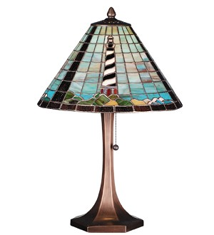 "21""H The Lighthouse on Cape Hatteras Table Lamp"