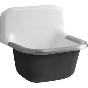 Heavy Duty Service Sink (Blank Back)