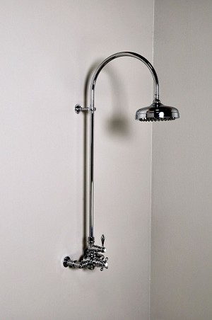 Thermostatic Exposed Shower Set