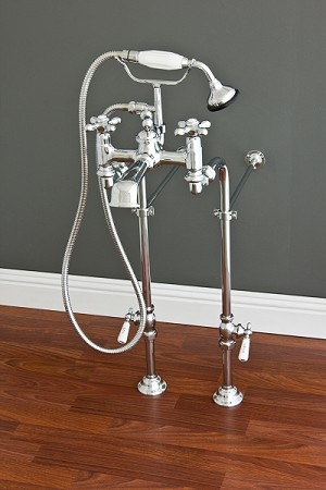 Telephone Faucet and Supply Set